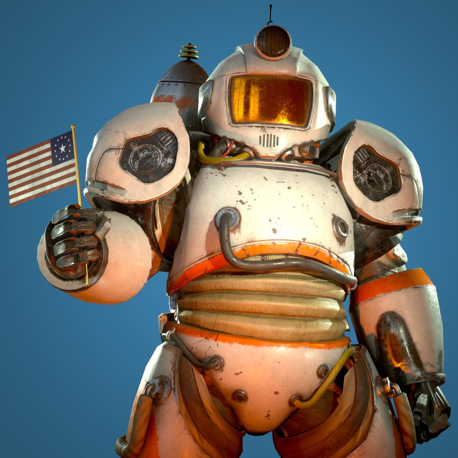 Fallout 76 Cosmic Power Armour Suit