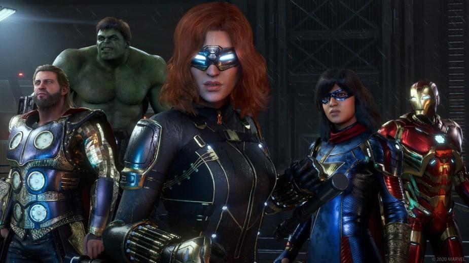 Avengers Square Enix Team