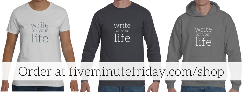 Write for Your Life shirts