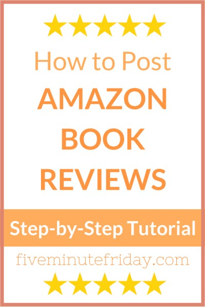 How to Post Amazon Book Reviews