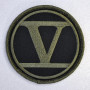 GREEN EMBLEM AND BLACK PATCH