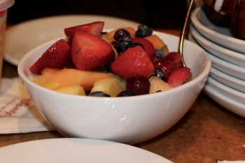 Fruit bowl from Garden Grill