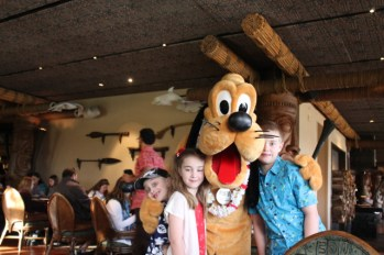 kids with Pluto