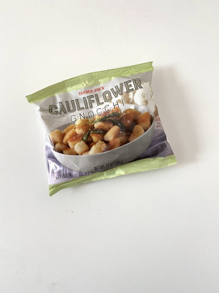 Cauliflower gnocchi is perfect for healthy easy dinners.