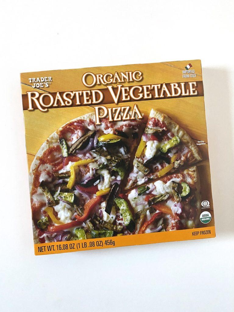 TJs Staples: Trader Joe's Roasted Veggie Pizza. FivePlates.com