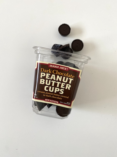 TJs Staple Items: Trader Joe's Dark Chocolate Peanut Butter Cups