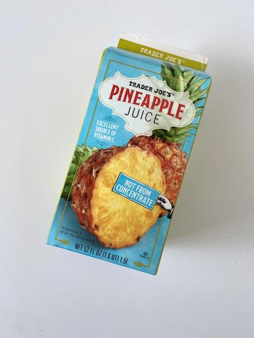 TJs Staple Items: Trader Joe's Pineapple Juice