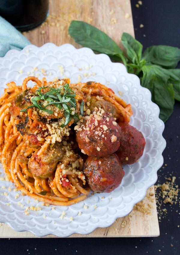 Sweet Potato Soul's Spaghetti & Lentil Meatballs: Plant-Based Dinner Ideas!