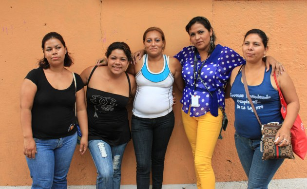 Some of the Las Golondrinas team