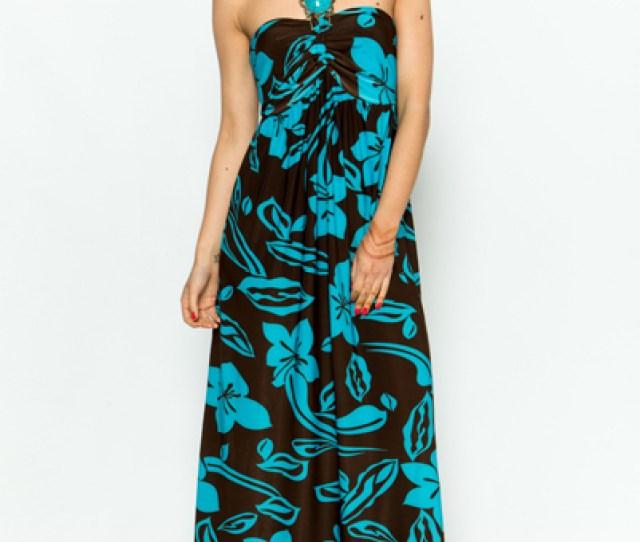 Beaded Halterneck Maxi Dress