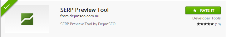 Serp Preview Tool - Extension