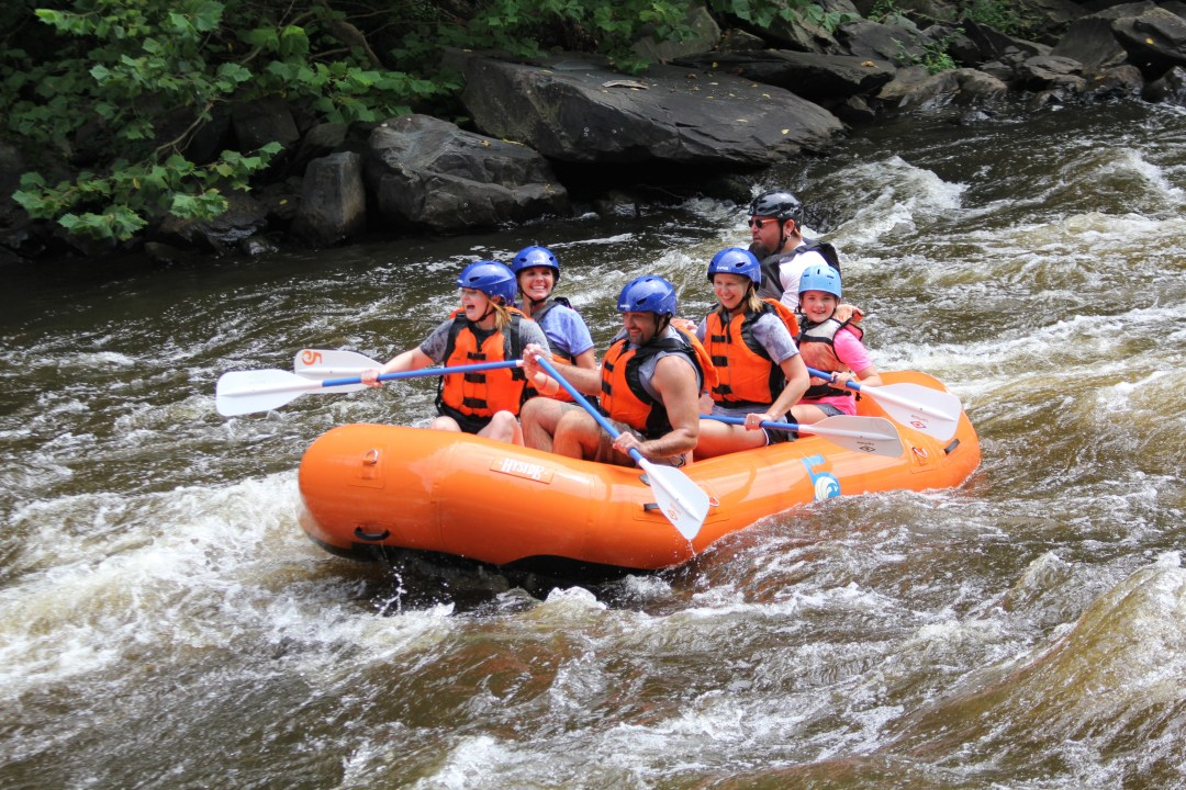 Rafting the Upper or Lower Rapids