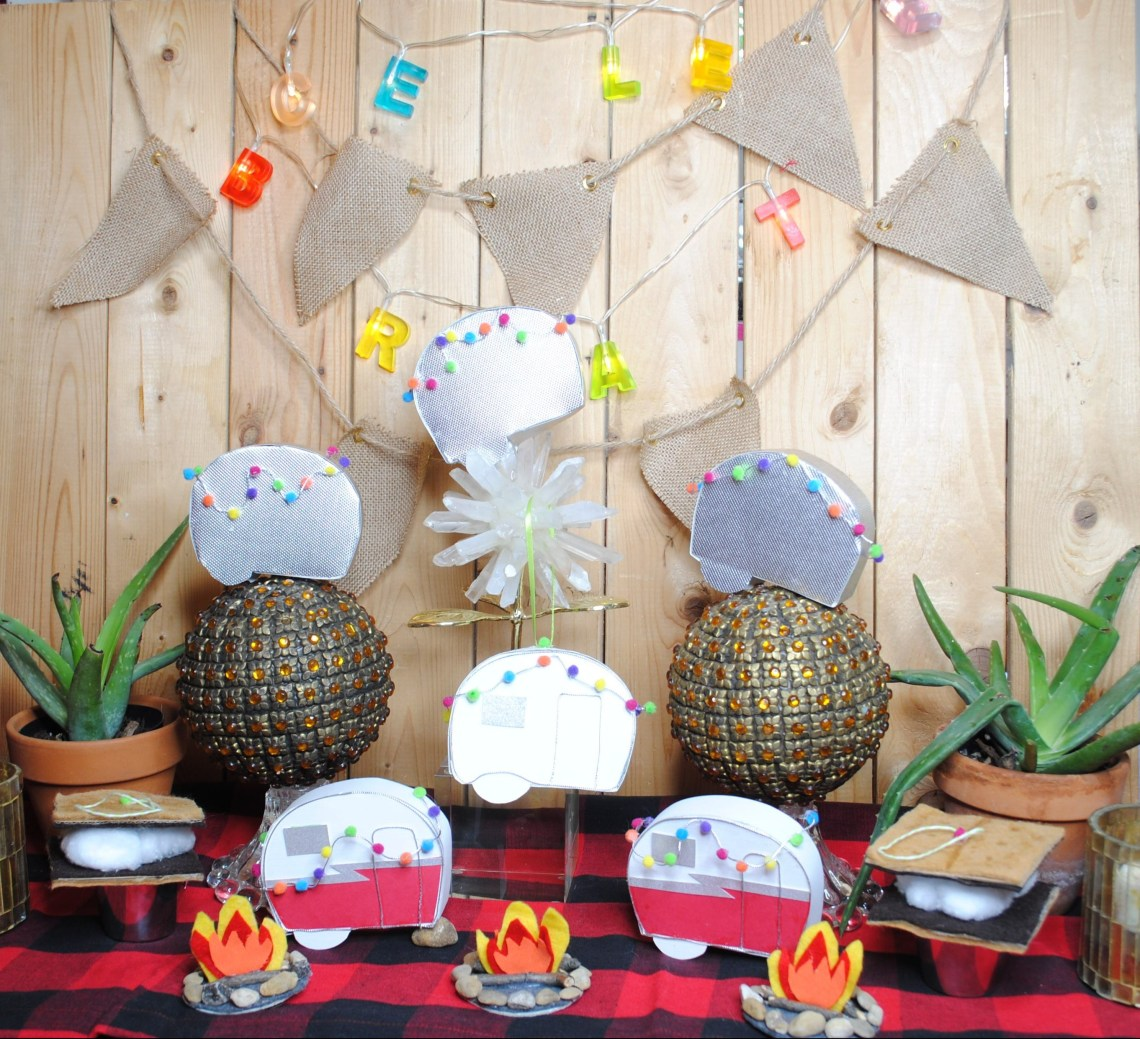 diy camper ornaments