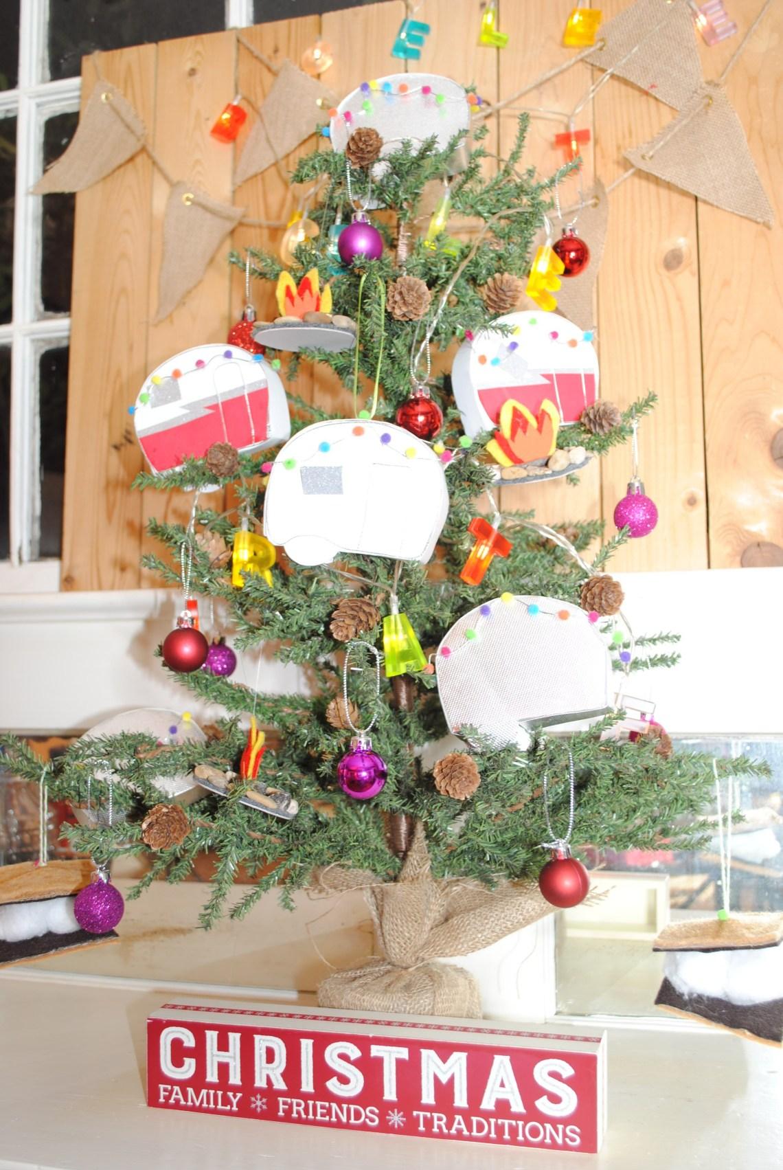 vintage camper ornaments