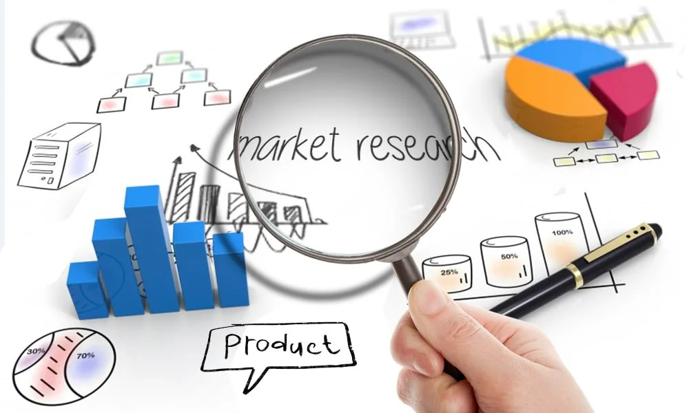 Provide an insightful market research report, web research, survey ...