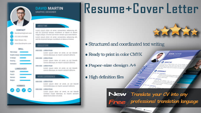 The resume writing process begins with us getting to know you and learning about your history and career goals. Provide A Professional Resume Writing Service By Alian100 Fiverr
