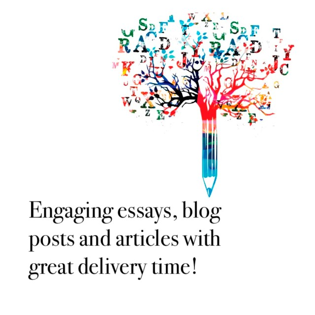 Write a great article, blog post or essay for you by Garvitabatra