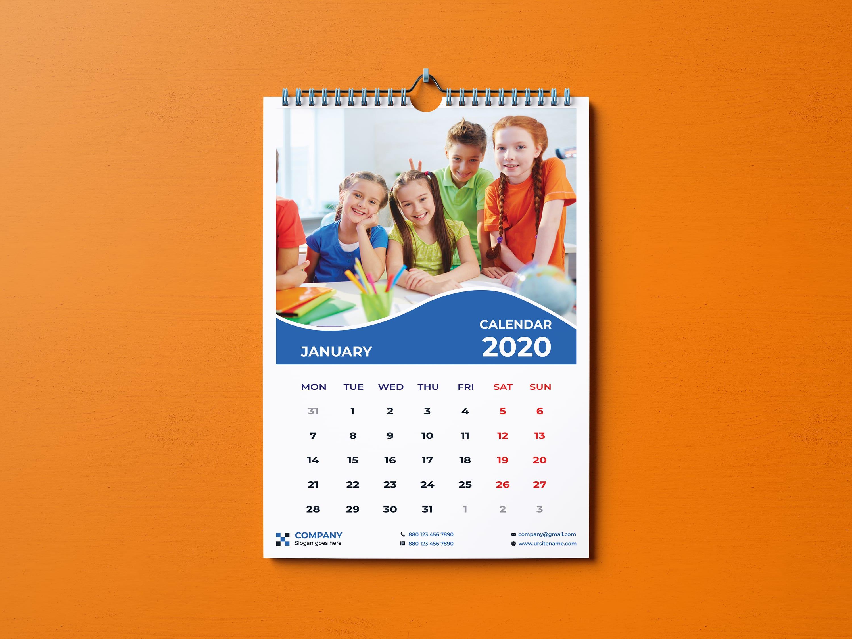 Do annual desk and wall calendar design by Monir_bp