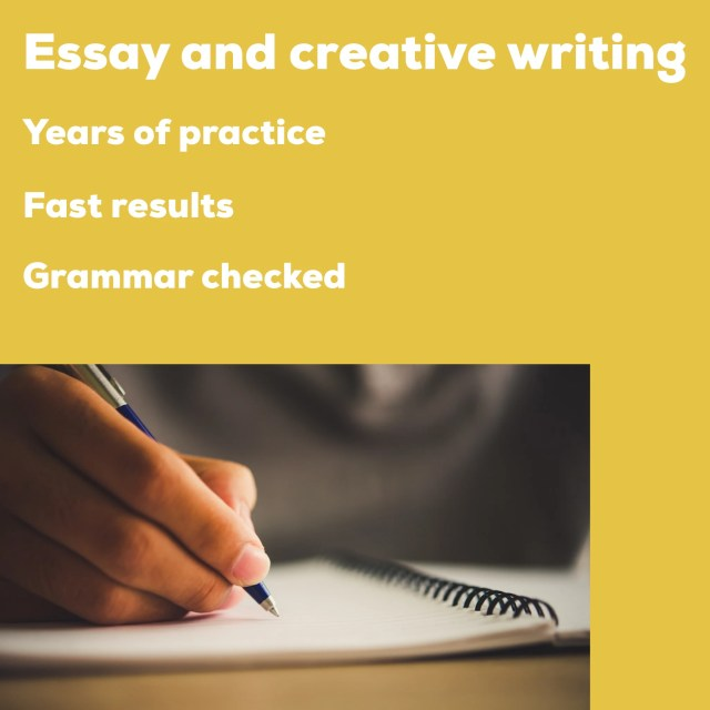 Write essays and creative writing tasks by Scribblewriter  Fiverr