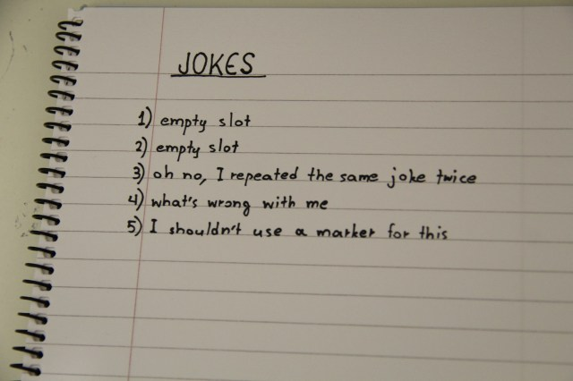 Write original jokes for your comedy needs by Thomosapiens  Fiverr
