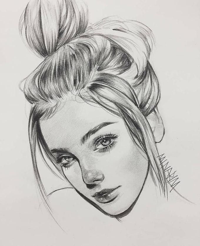 Draw Pencil Sketches Image Portraits Diagram By Maxdataplus