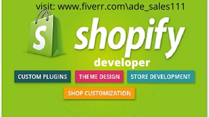 design high captivating and effective shopify store, shopify website