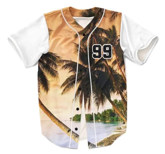 Download Design 1 baseball jersey mockup, print and ship if needed ...
