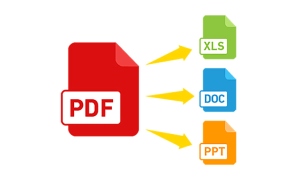 Convert pdf into word, excel , text or any thing by ...