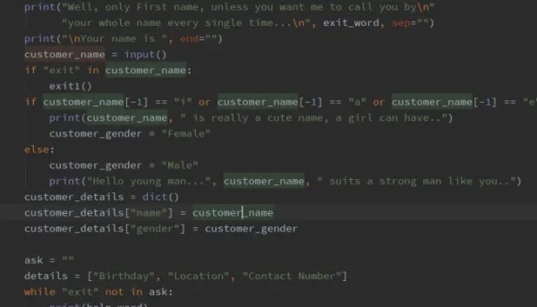 Write python programs for you which involves algorithms by ...