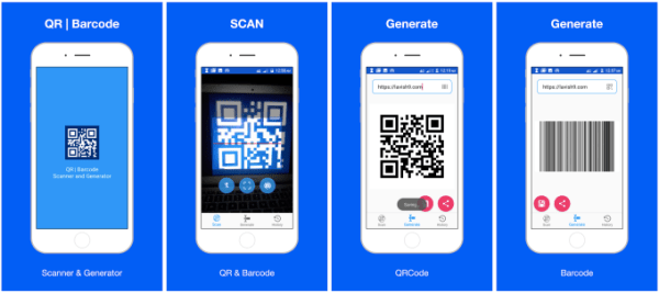 Build qr code and barcode scanner and generator for ...