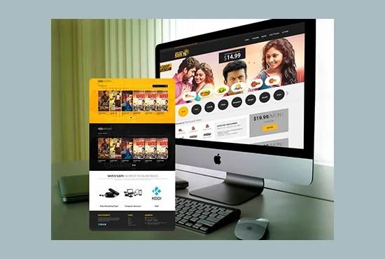 Design Photoshop Web Template Or Psd Website By Pawanjangirjpr