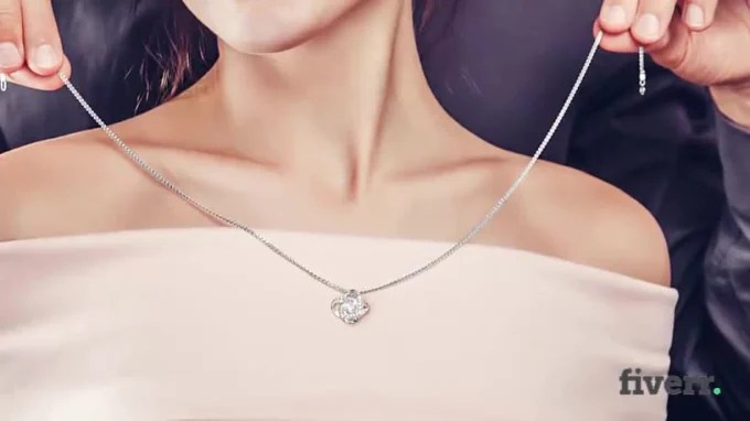 Are your necklaces in a tangle? Do Jewelry Or Necklace Video Mockup For Shineon By E Shirt Fiverr
