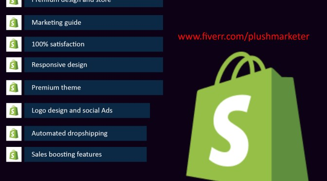 I will create automated shopify dropshipping store, and marketing strategy