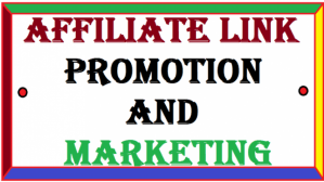 I will do share link promotion, affiliate link promotion, FiverrBox