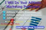 I will do amazon affiliate link marketing teespring etsy redbubble promotion traffic, FiverrBox