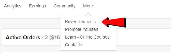 cách tìm kiếm khách hàng ngay trên fiverr 1