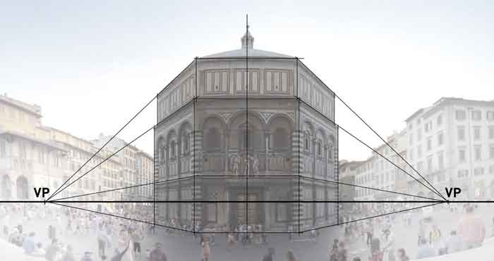 Filippo Brunelleschi - Linear perspective