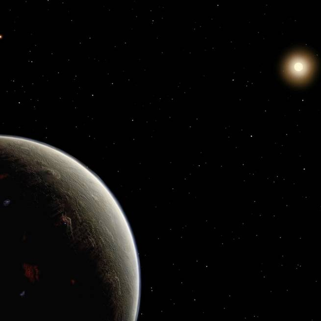 There's a planet exactly where Star Trek said Vulcan should be