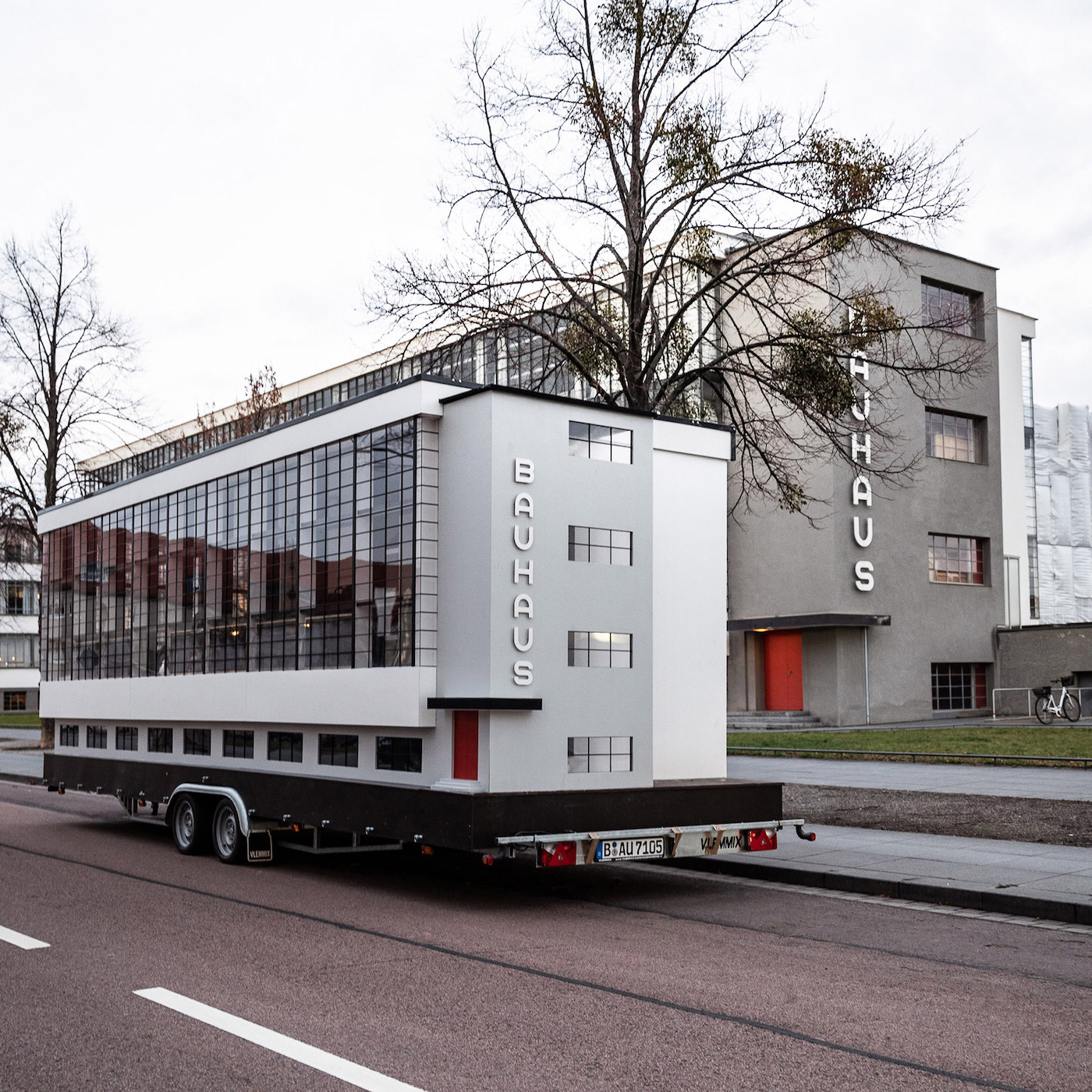 Bauhaus Bus Embarks on World Tour to Explore a Global Legacy
