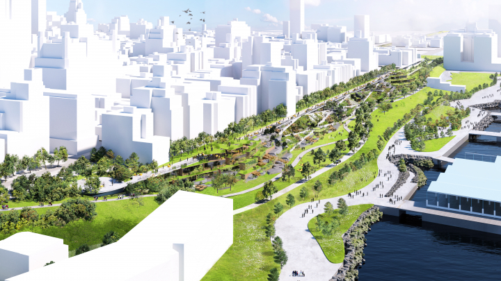 Architects Want to Build a Park on Top of the Brooklyn-Queens Expressway