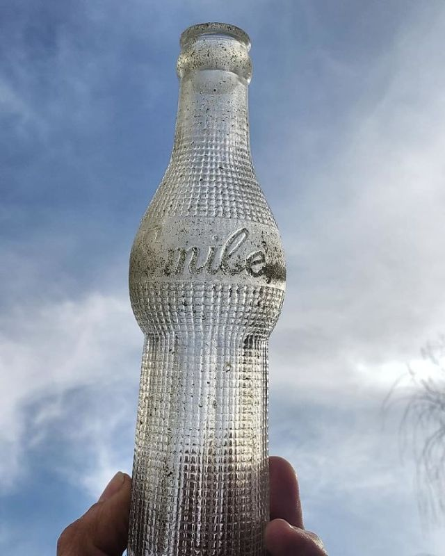 I Found This Smile Soda Bottle Patented On July 11th 1922