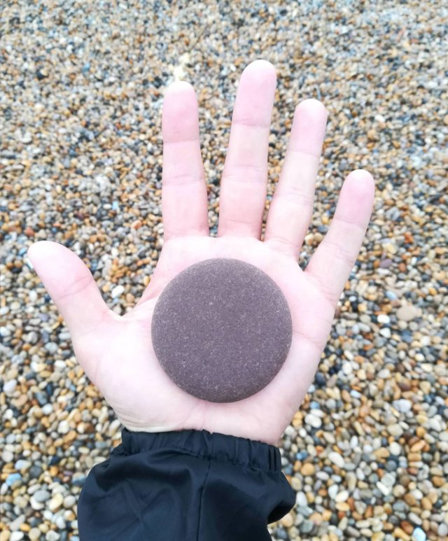 This Satisfying Pebble I Found At The Beach