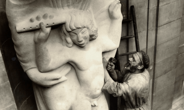 Artist Eric Gill (Photo: BBC/Corbis)