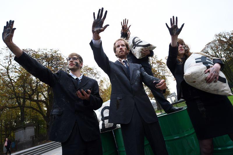 BELGIUM-EU-SUMMIT-PROTEST-CLIMATE