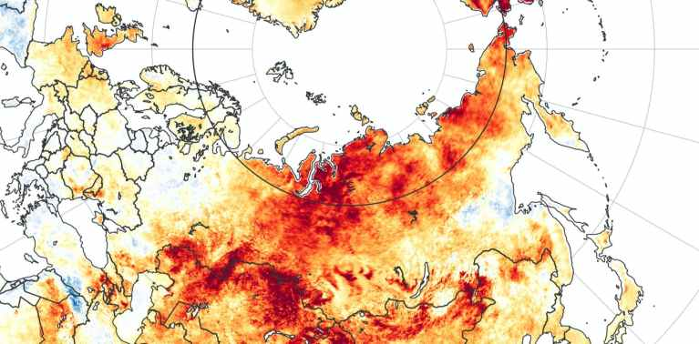 Siberia heatwave: why the Arctic is warming so much faster than the rest of the world