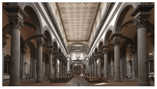 Linear perspective – Filippo Brunelleschi
