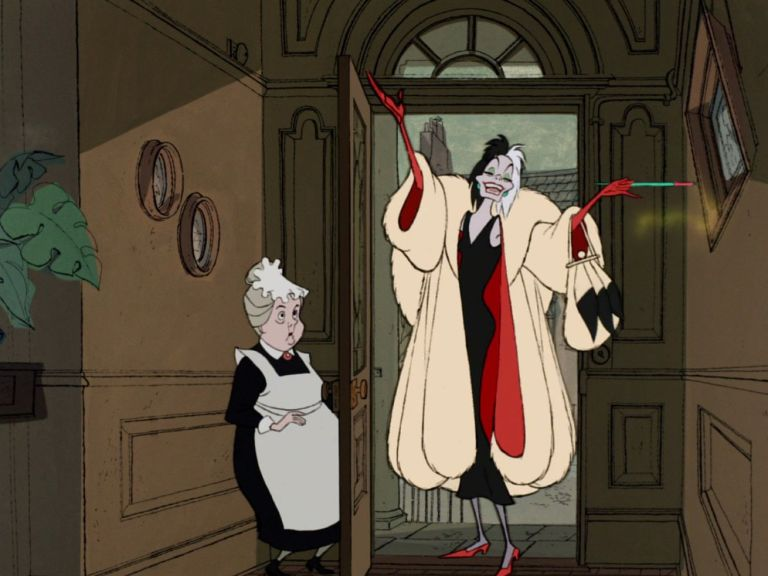 The unstoppable, villainous glamour of Cruella de Vil