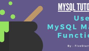 mysql math functions
