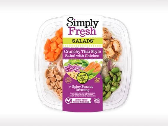 Crunchy Thai Salad<br>with Chicken