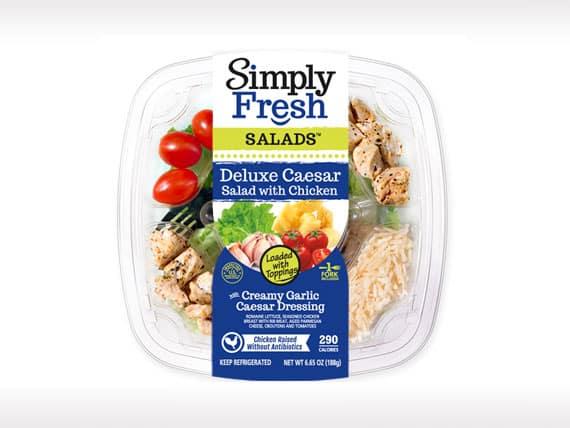 Deluxe Caesar Salad<br>with Chicken